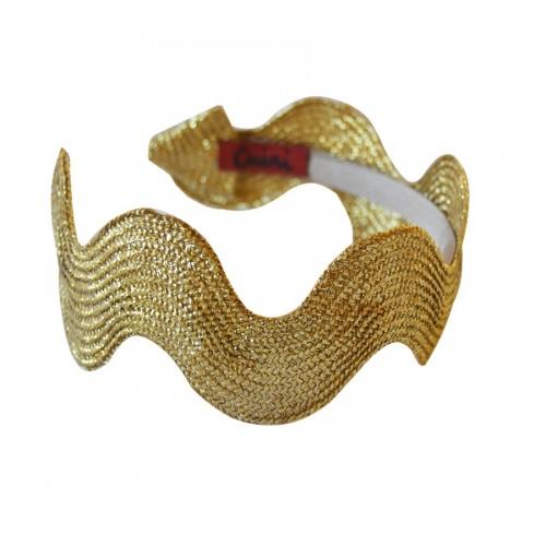 Diadema Serpentin Lurex