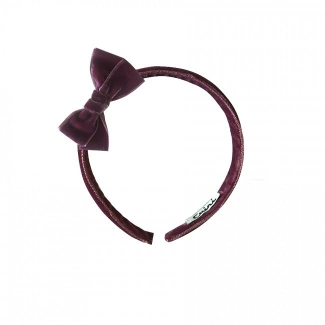 Diadema Terciopelo lazo 23mm