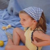 ¿Qué os parece la combinación azul y amarillo?  🍋¡Por aquí somos muy fans! 🍋  👉🏻Carlota lleva pirata vichy en azul. Este modelo es súper favorecedor ¡y además cómodo!  Porque les retira el pelo de la carita ¡Y les sienta genial!   #pirata #vichyprint #piratavichy #lazosdealgodon #lazosinfantiles #complementosparaniñas #empresaespañola #marcaespaña #complementosinfantiles #lazosparaniñas #madeinspain #marcaespanola #accesoriosinfantiles #adornosparaelpelo #diademasniña #diademas #cuini #cuinimadrid #vichyprint #texture